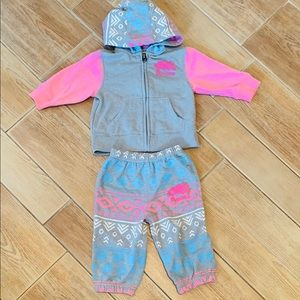 Roots 2 piece outfit